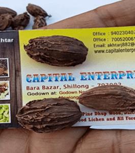 Black cardamom large Rs. 620 per kg